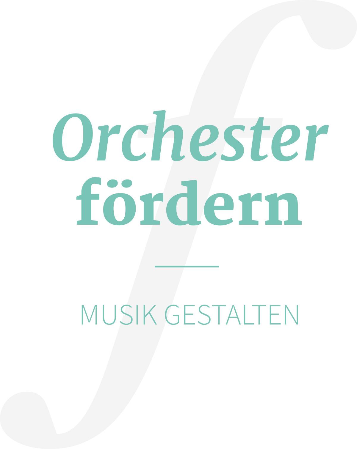 Foto Orchester fördern