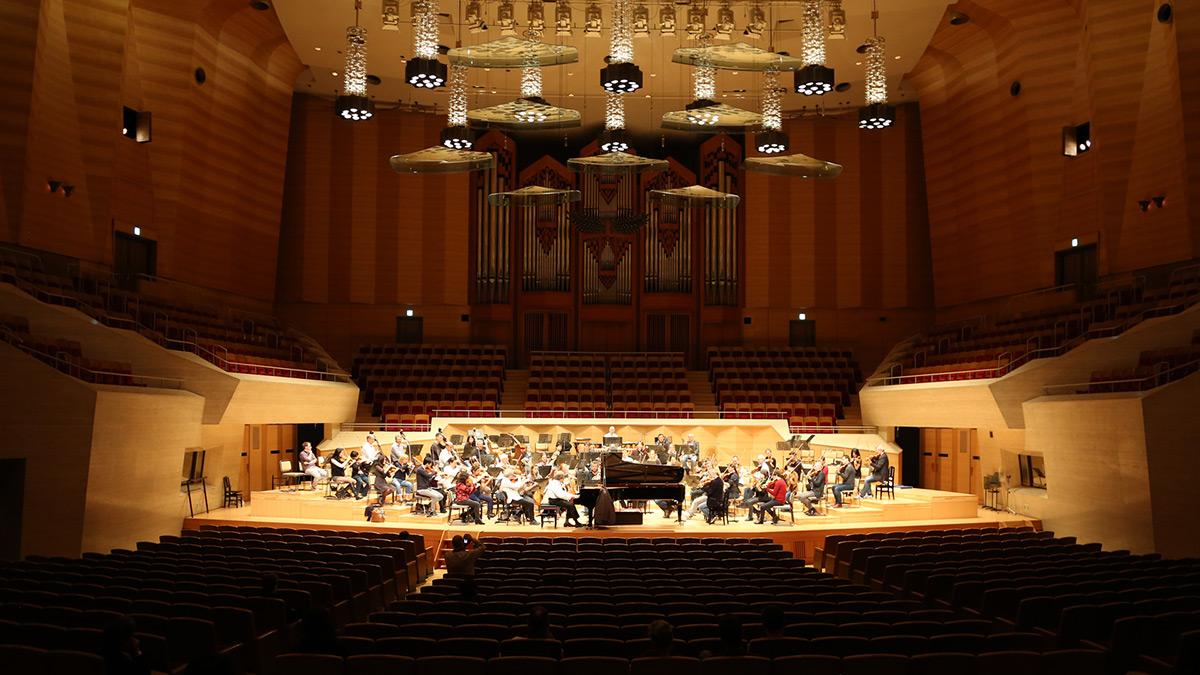 Probe Asien Tournee NDR Elbphilharmonie Orchester