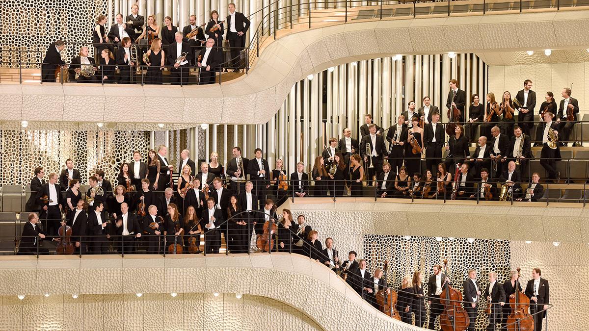 NDR Elbphilharmonie Orchester (© Michael Zapf)