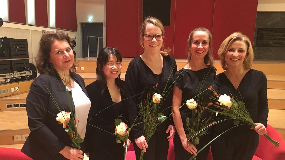 Das Nima-Quartett war zu Gast beim